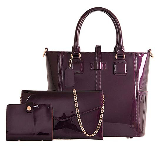 New Leather Bag 3PCS Set Bag Fashion Designer Handbag Wholesale (XM259)