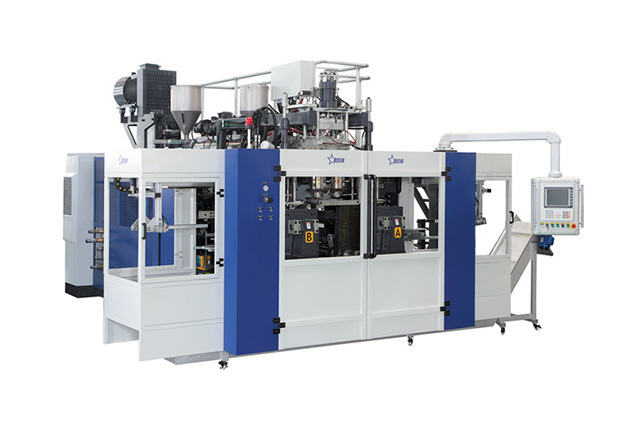 Fully Automaic Blow Moulding Machine B15D-560 (2 Stations 4 Cavities)
