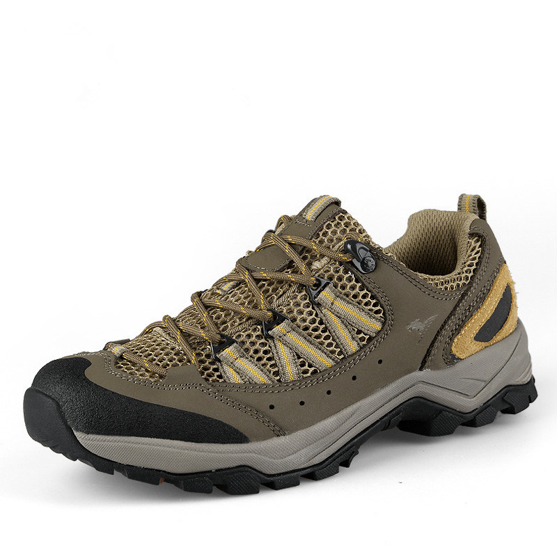 Hiking Safety Climbing Mountian Trekking Shoes for Men (AK8871)