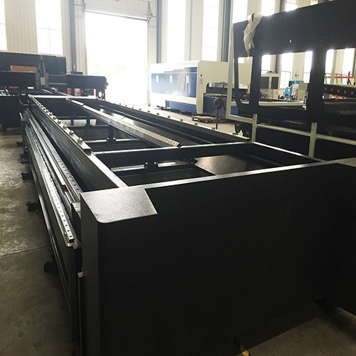 500W Fiber Laser Cutting and Pipe Slotting Machine