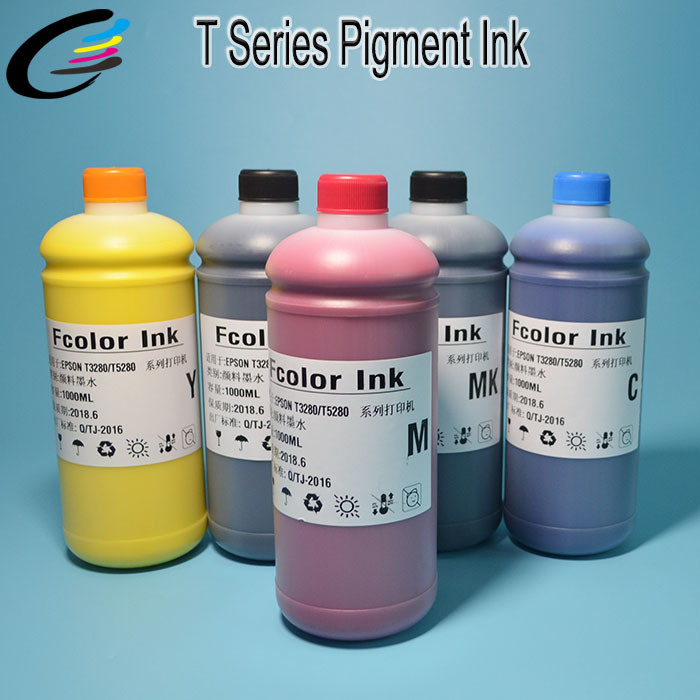 Excellent Fluency for Epson Surecolor Sc-T5280 T3280 T7280 Inkjet Printing Pigment Ink