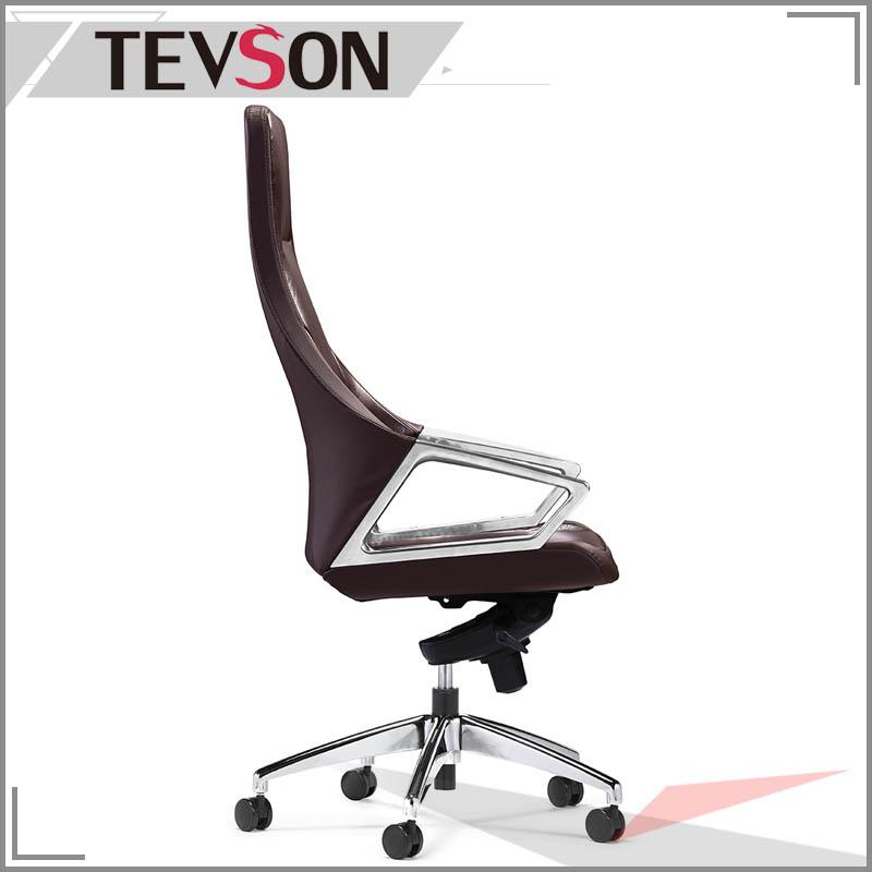 Modern PU or PVC Swivel Leather Executive Chair