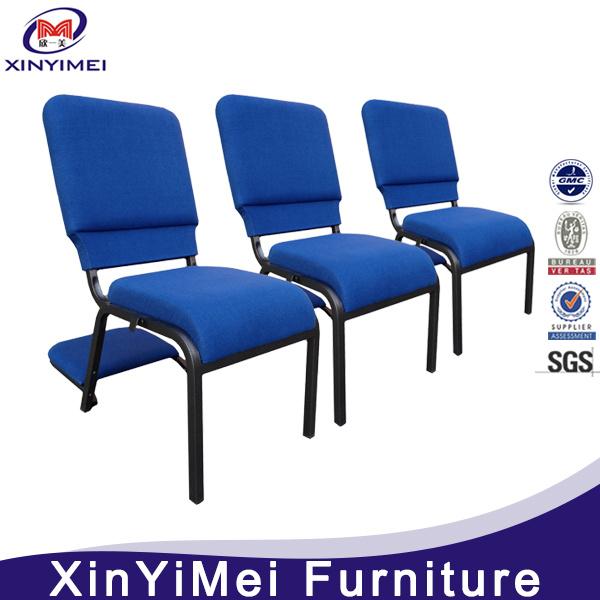 Popular Economic Church Chair, Chair for Church, Metal Church Chair, Iron Church Chair, Stacking Church Chair, Auditorium Chair (XYM-024)