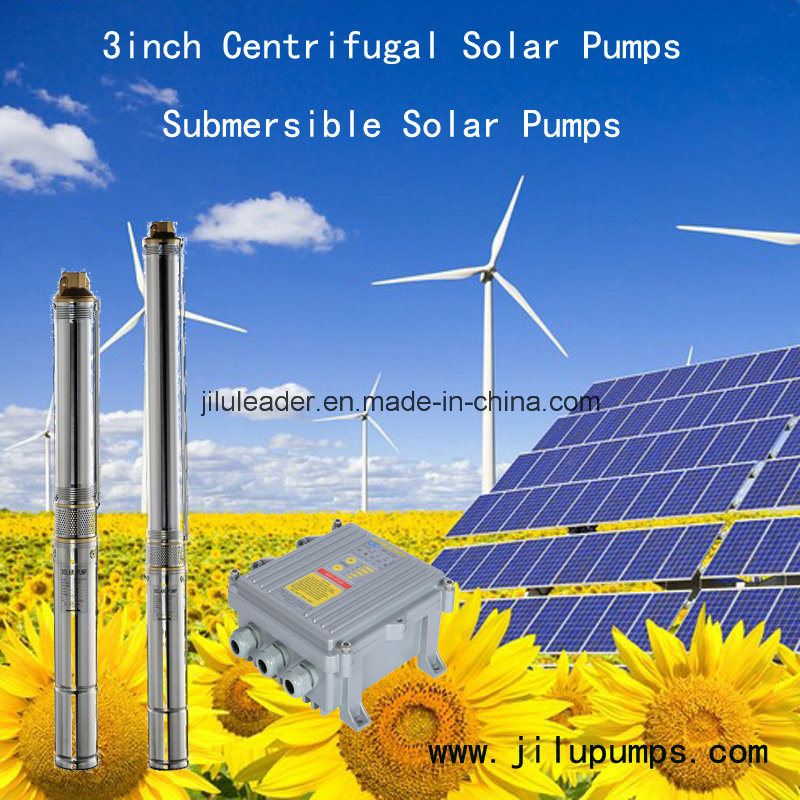 Solar Submersible DC Water Pump for Irrigation System