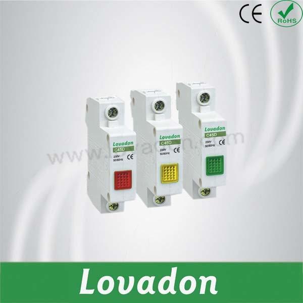 C45D DIN Rail Indicator Signal Lamp