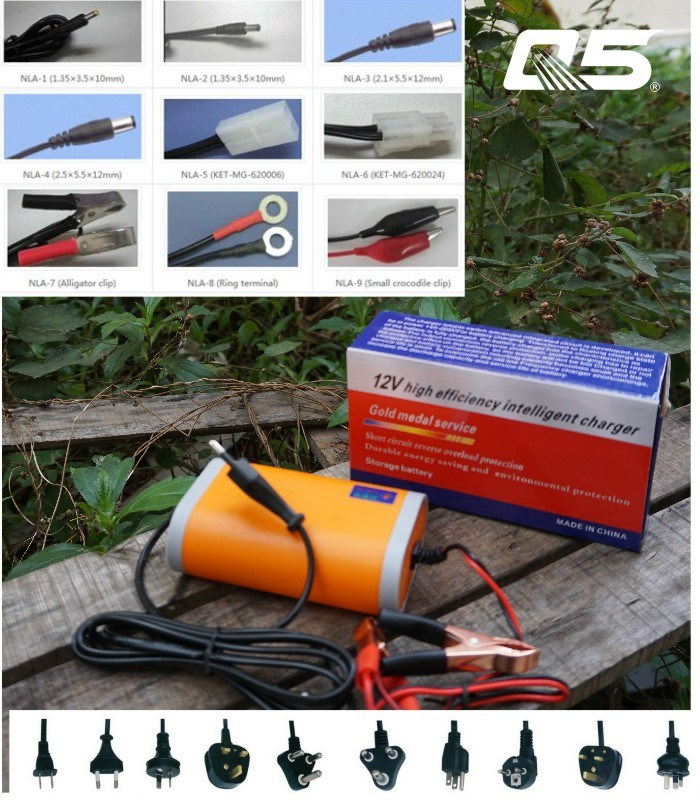 12V8A Automatic Trickle Lead acid battery Charger Storage Battery Charger