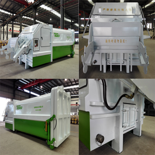 Mobile Garbage Compactor for Collecting Household Waste