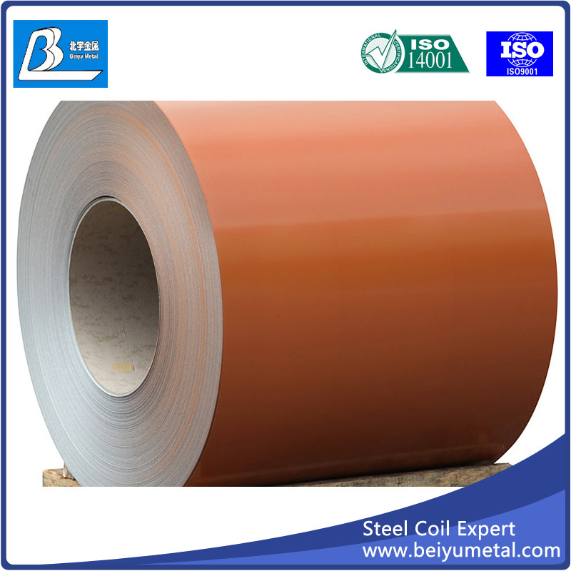 Prepainted Galvalume Galvanized Steel Coil PPGL PPGI Metal Sheet Mill