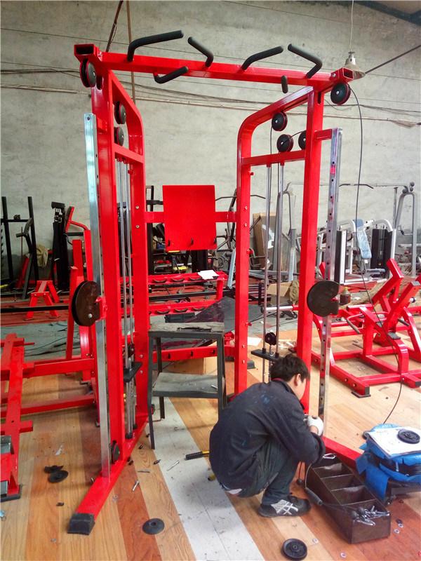 Fitness Equipment/Fitness Machine/Gym Equipment - Dual Adjustable Pulley (KK04)