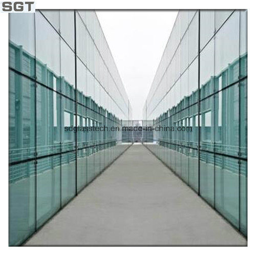 6.38mm-20.38mm Toughened Laminated Glass for Building