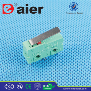 Kw4-2 5A 250VAC Micro Switch with Short Lever