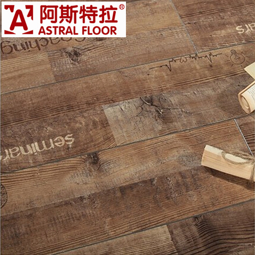 Wooden 8mm and 12mm Silk Surface with Waterproof Laminate Floor