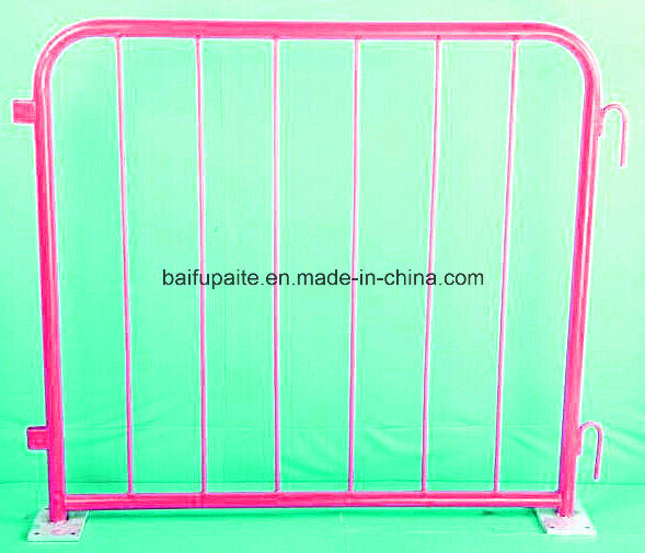 Metal Barrier Temporary Fence Municiple Guardrail Traffic Barriers