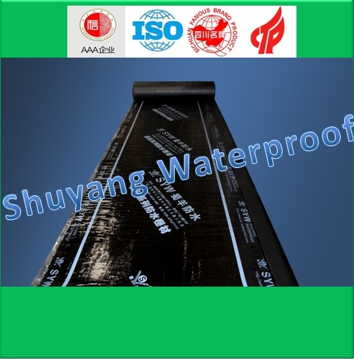 Self-Adhesive Polymer Modified Bitumen Waterproof Membrane