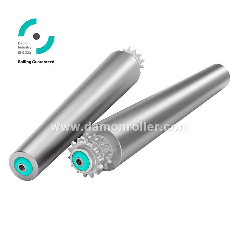 Tapered Sprocket Steel Conveyor Roller (2521)