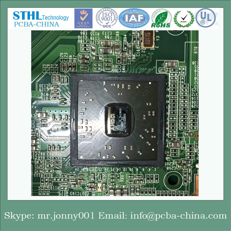 Shenzhen Manufacturer Immersion Gold PCB with Gold Finger/Multilayer PCB