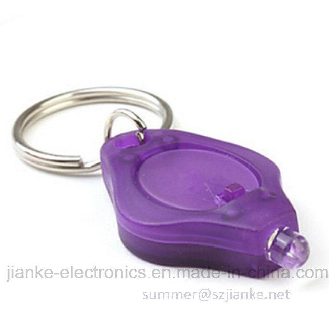 Hot Sell Promotion Gift Flashing LED Keychain (4070)