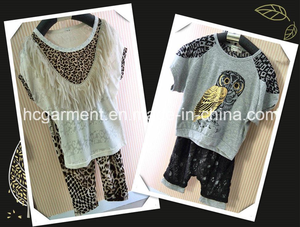 Children Leopard Grain Girl Dress Baby Dress Suit, Kids Wear