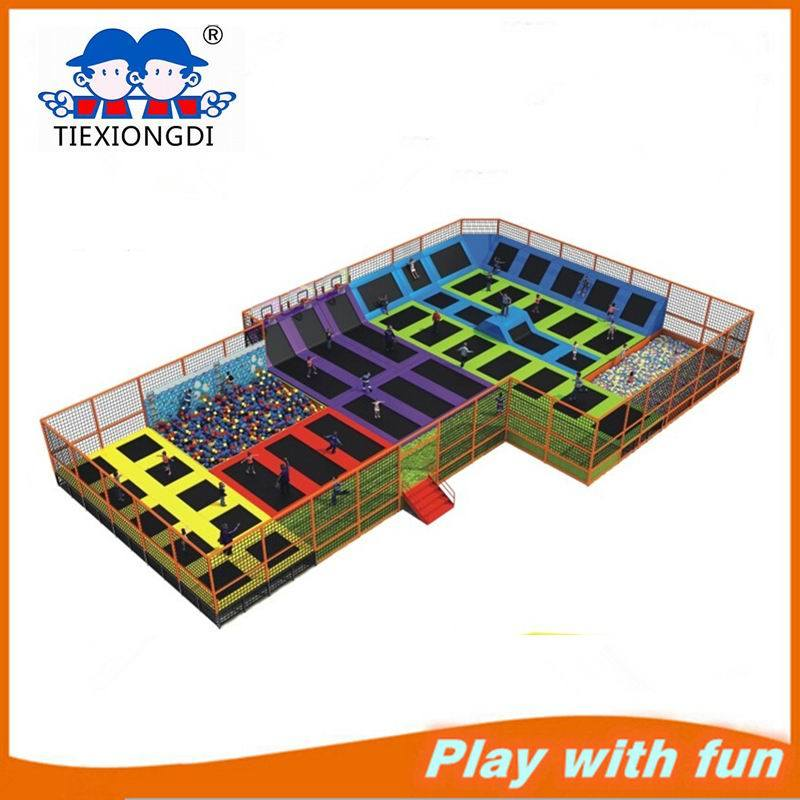 Customized Made Trampoline Indoor Trampoline Park