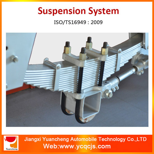 Leaf Spring Heavy Truck Suspension American Type Suspension Systems