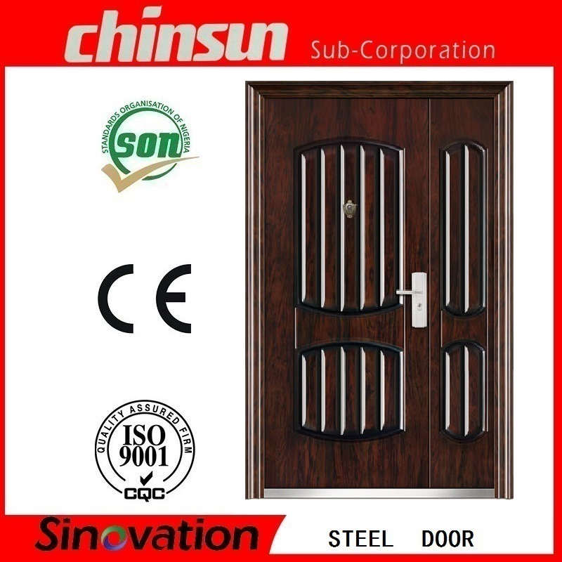 2017 Residential Steel Double Entry Door (SV-S108)