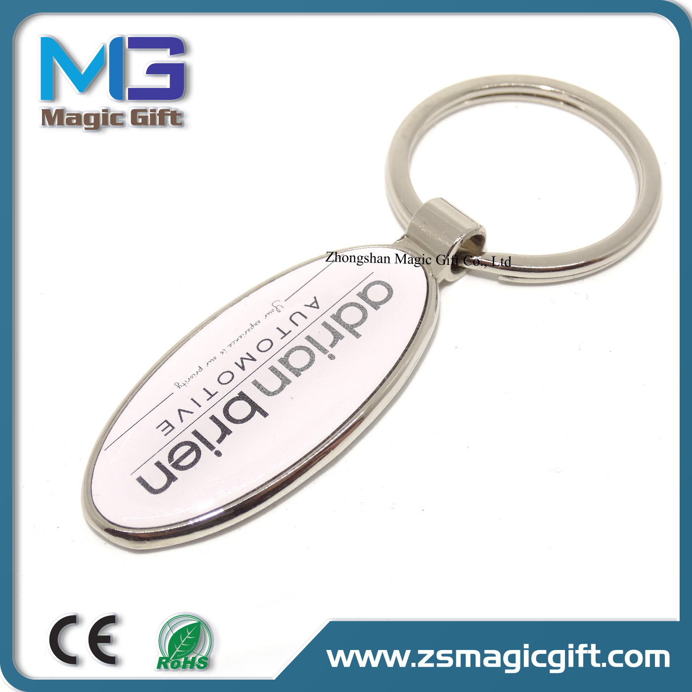 Hot Sales Cheap Promotional Metal Craft with Printing Logo