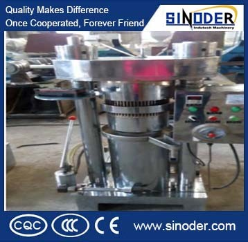 6yz-230 Hydraulic Oil Press, Oil Extraction Machine for Pressing Cocoa, Sesame, Peanut
