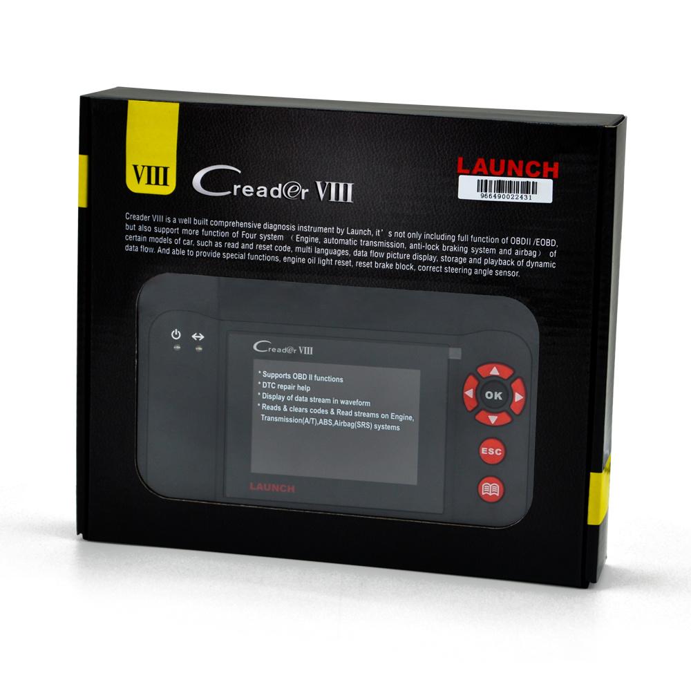 Launch X431 Creader VIII Obdii Code Reader Update Online