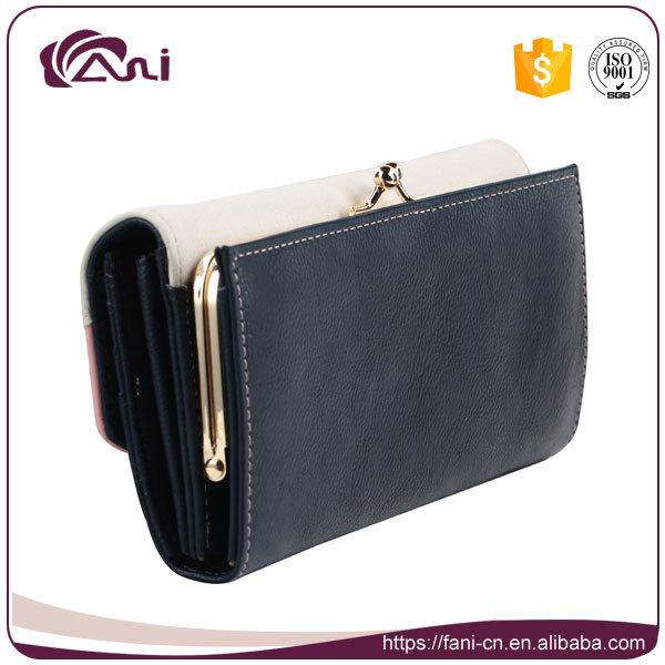 fashion Design Trend Women Lady PU Leather RFID Wallet