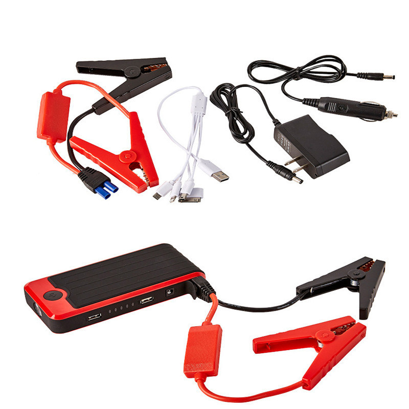 Portable Good Quality Power Bank 12000mAh Car Jump Starter Car Accessories