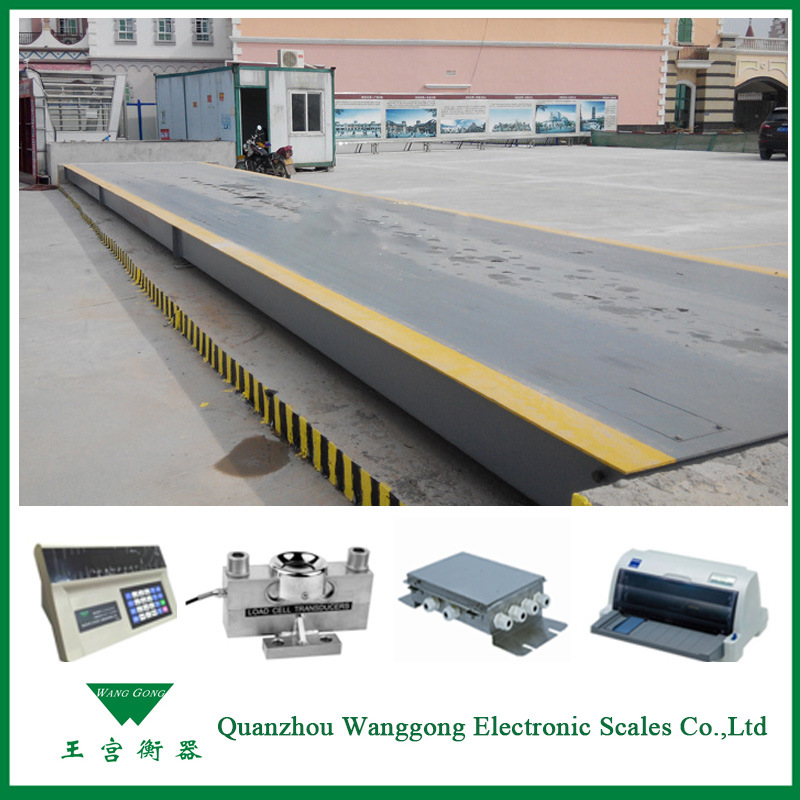 80-100t Digital Truck Scales Weighbridge