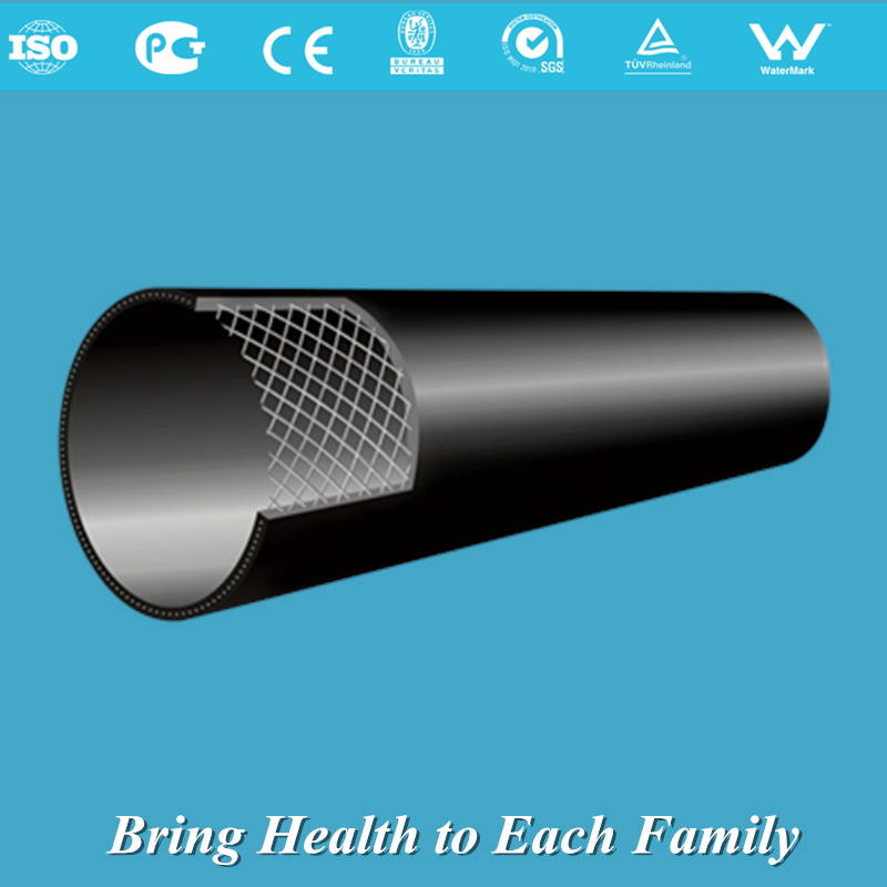 Steel Skeleton Reinforced PE Composite Pipe for Gas Supply