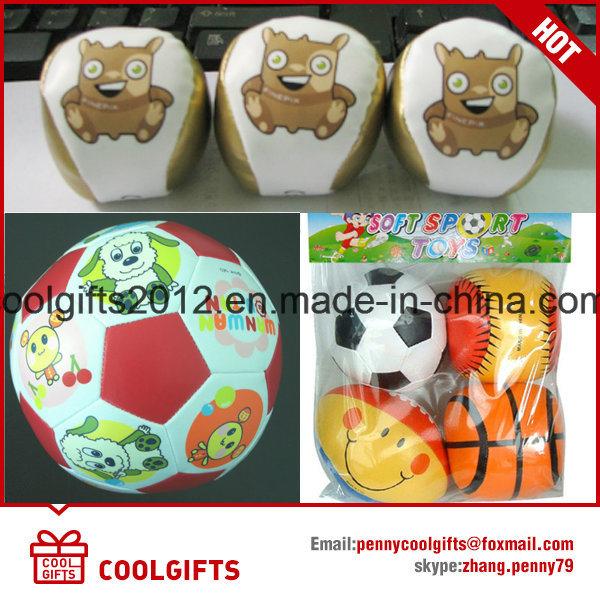 Promotional Stuffed Juggling Ball, PVC Stuffer Hacky Sack Juggling Ball