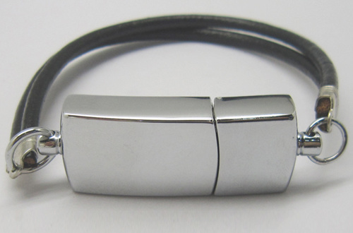 Bracelet and Leather USB Flash Drive with Printing Your Logo