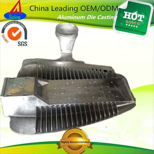 300W Street Light Aluminum Cover