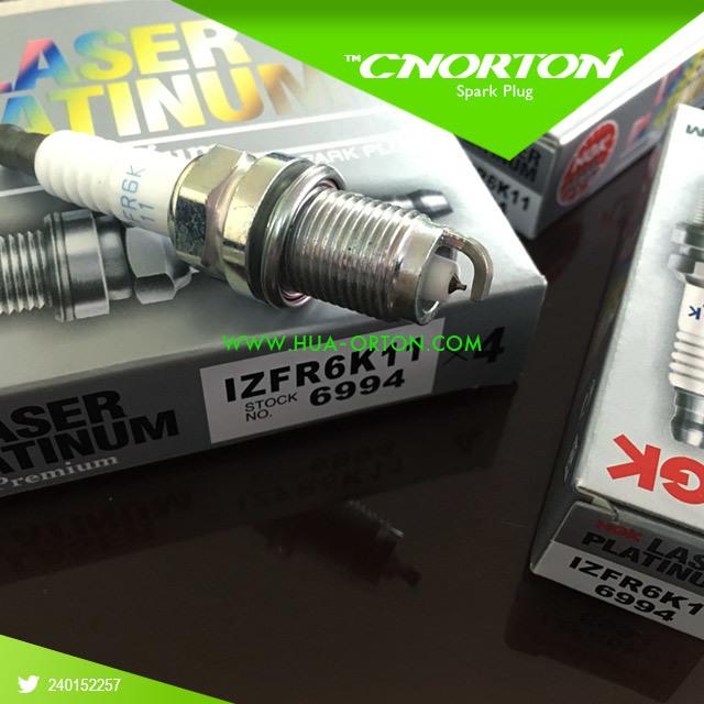 Ngk Iridium Spark Plug Izfr6k11 6994 Japanese Low Price Auto Parts Spark Plug Wire Set