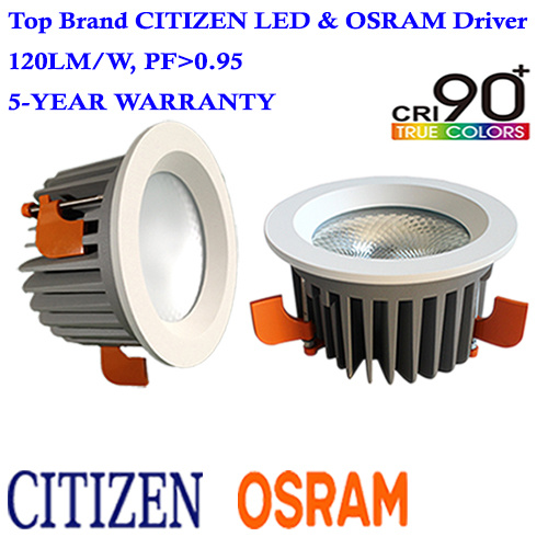 30W LED Ceiling Lamp Citizen COB LED Downlight