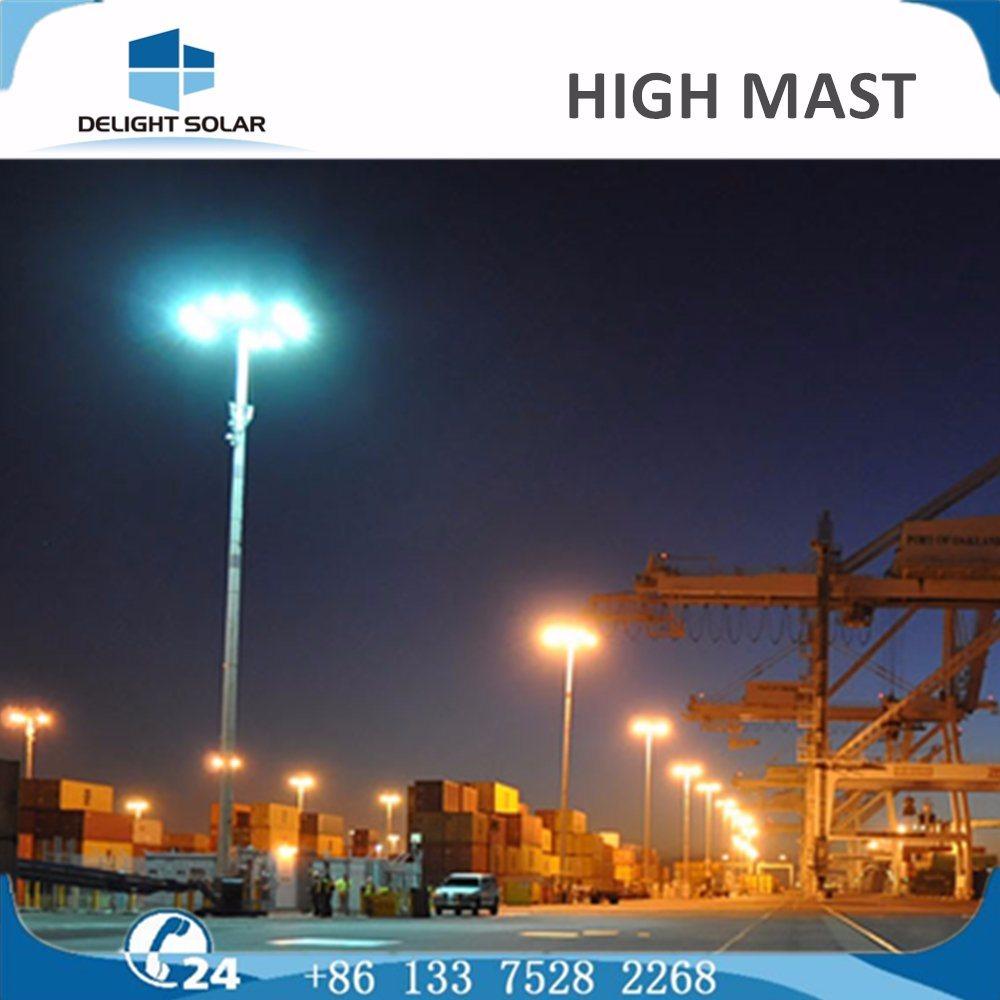 30m High Mast Lighting 400W HPS Flood High Mast Light