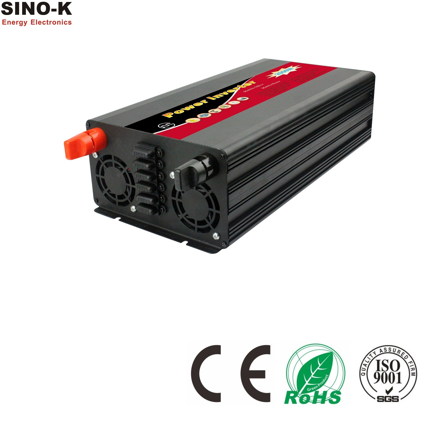 2000W Modified Sine Wave Power Inverter with Charger