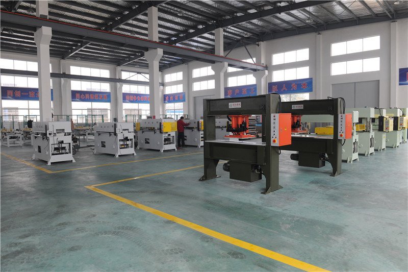 25t Hydraulic Travelling Head Cutting Machine/ Cutting Press/Die Cutting Machine/Punching Machine