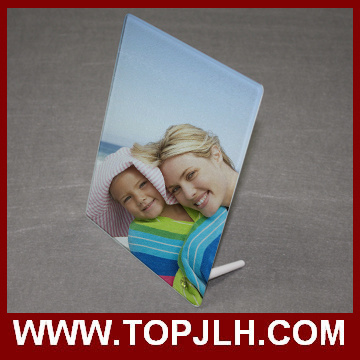 15*20cm Tempered Glass Photo Frame Sublimation