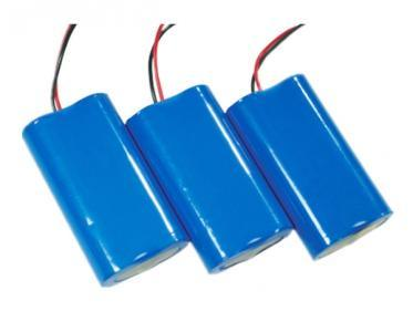 Rechargeable 18650 7.4V 2000mAh Lithium Battery for Computer Backup