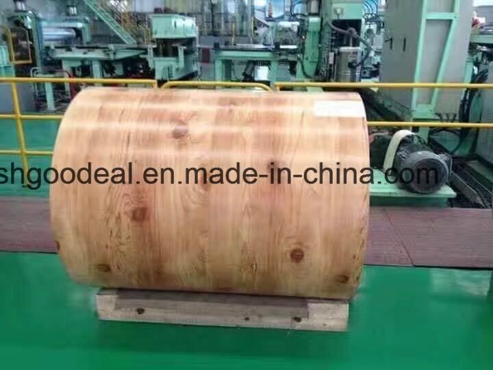 Print Prepainted Steel Coils PPGI From Shandong Yehui Factory
