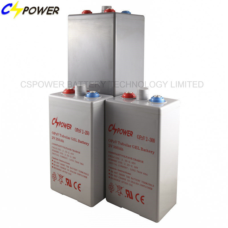 Opzv2-1500 Tubular Gel Battery, 2V 1500ah Opzv Battery