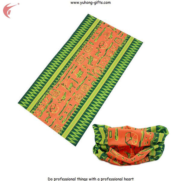 Multifunctional Seamless Bandana Scarf for Promotion (YH-HS064)