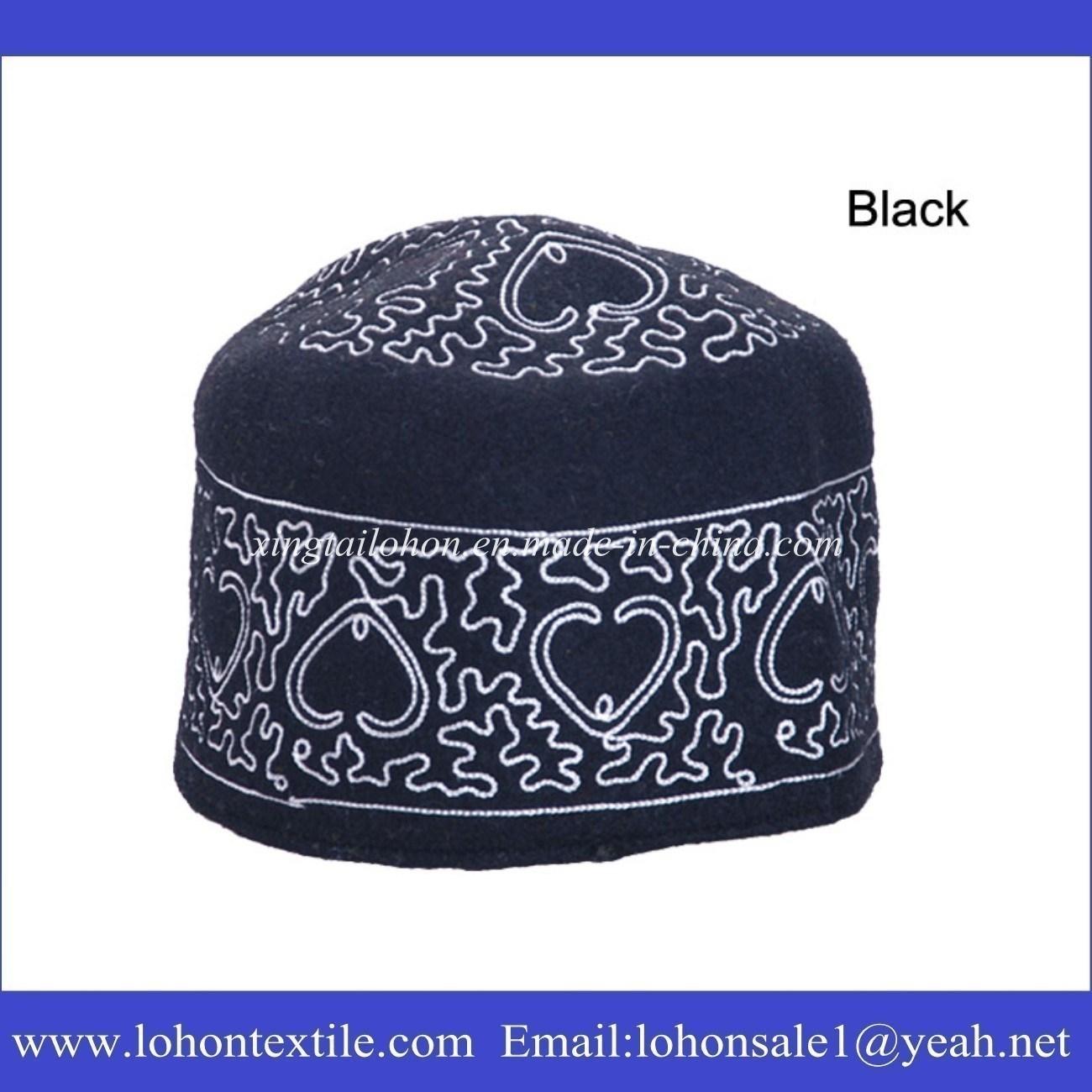 Wool Felt Muslim Prayer Hats, Muslim Prayer Cap, African Traditional Caps