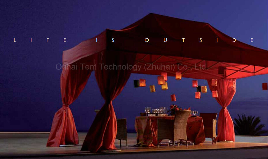 3m X 4.5m Beautiful Folding Tent for Wedding, Party, Event