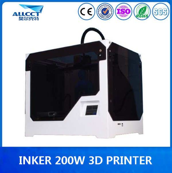 Factory 0.1mm Precison 200X200X300mm Building 3D Printer for Office