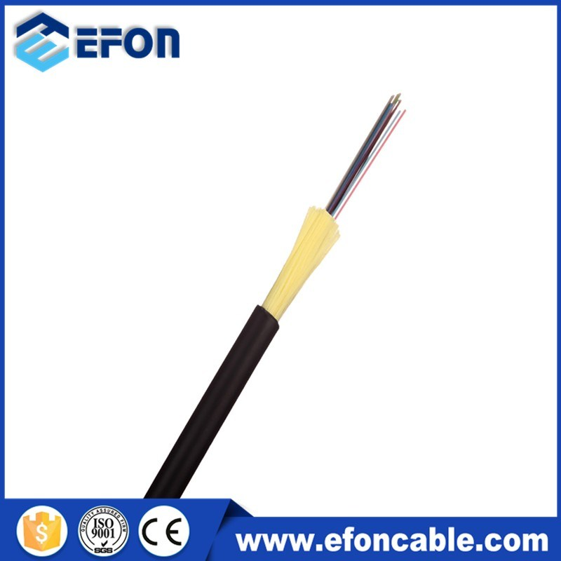 LSZH Jacket Kevlar Yarn Armor 4 Core Micro Drop Fiber Optic Cable