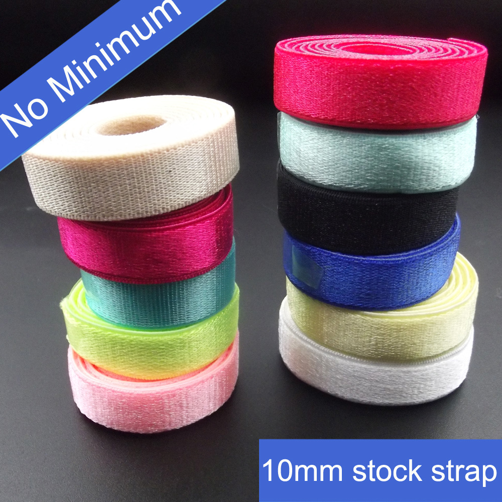 12mm Satin Shining Swimwear Elastic Strap in Stock